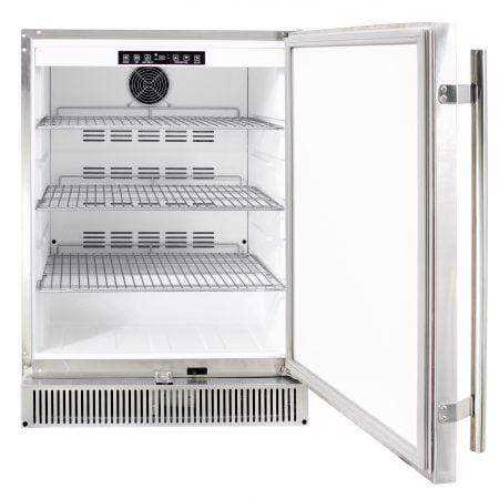 "Blaze Outdoor Products Barbecue 24"" 5.2 Cu Ft. SS Outdoor Rated Fridge"
