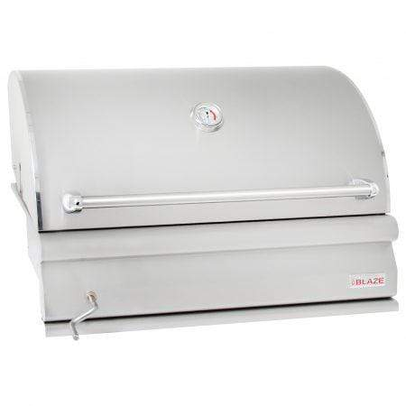 "Blaze Outdoor Products Barbecue 32"" Built in Charcoal Grill"