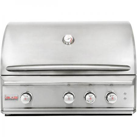 "Blaze Outdoor Products Barbecue 34"" 3 Burner PRO Built In Grill Head LP"