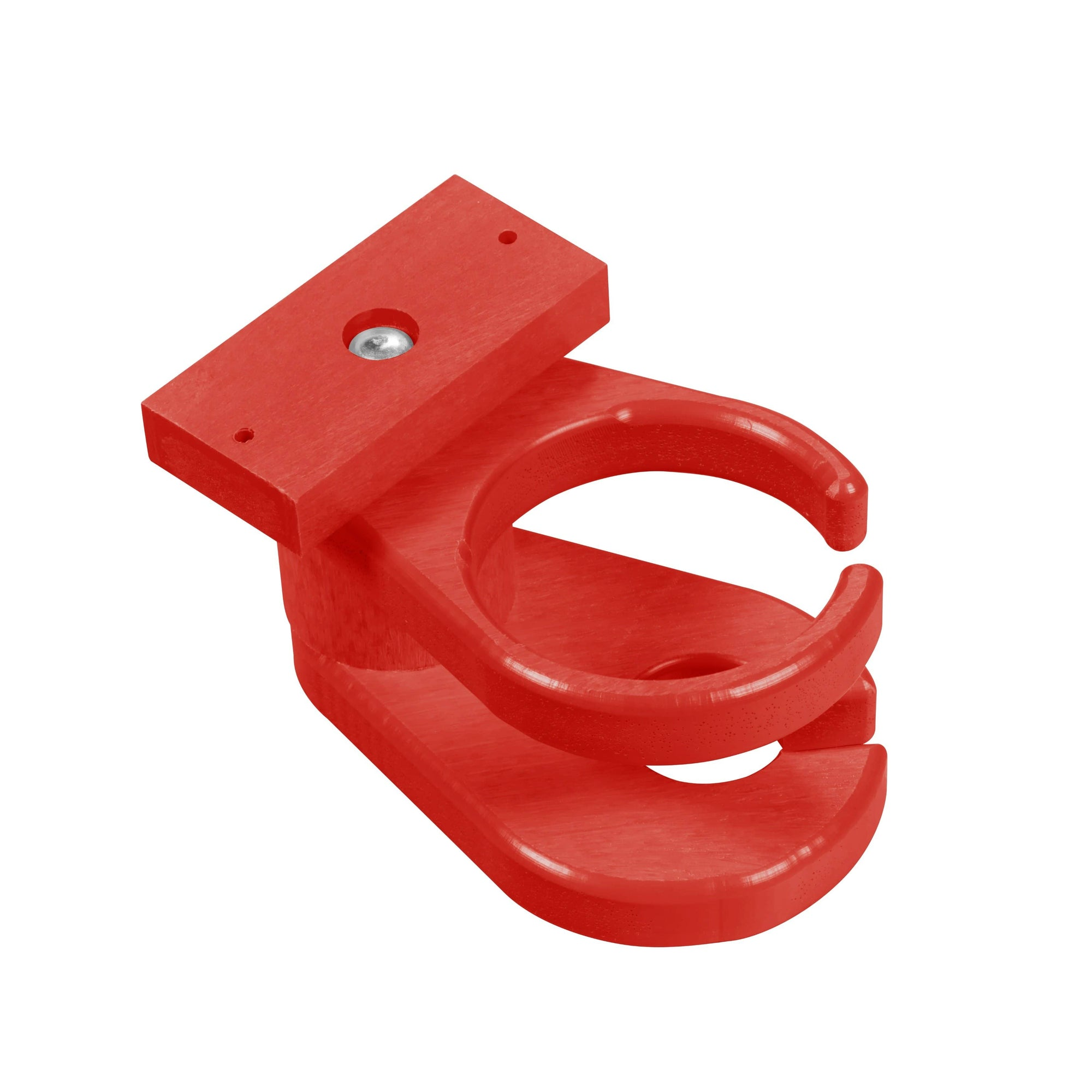 C.R. Plastic Products Furniture Accessories Red-01 A01 Adirondack Cup & Wineglass Holder
