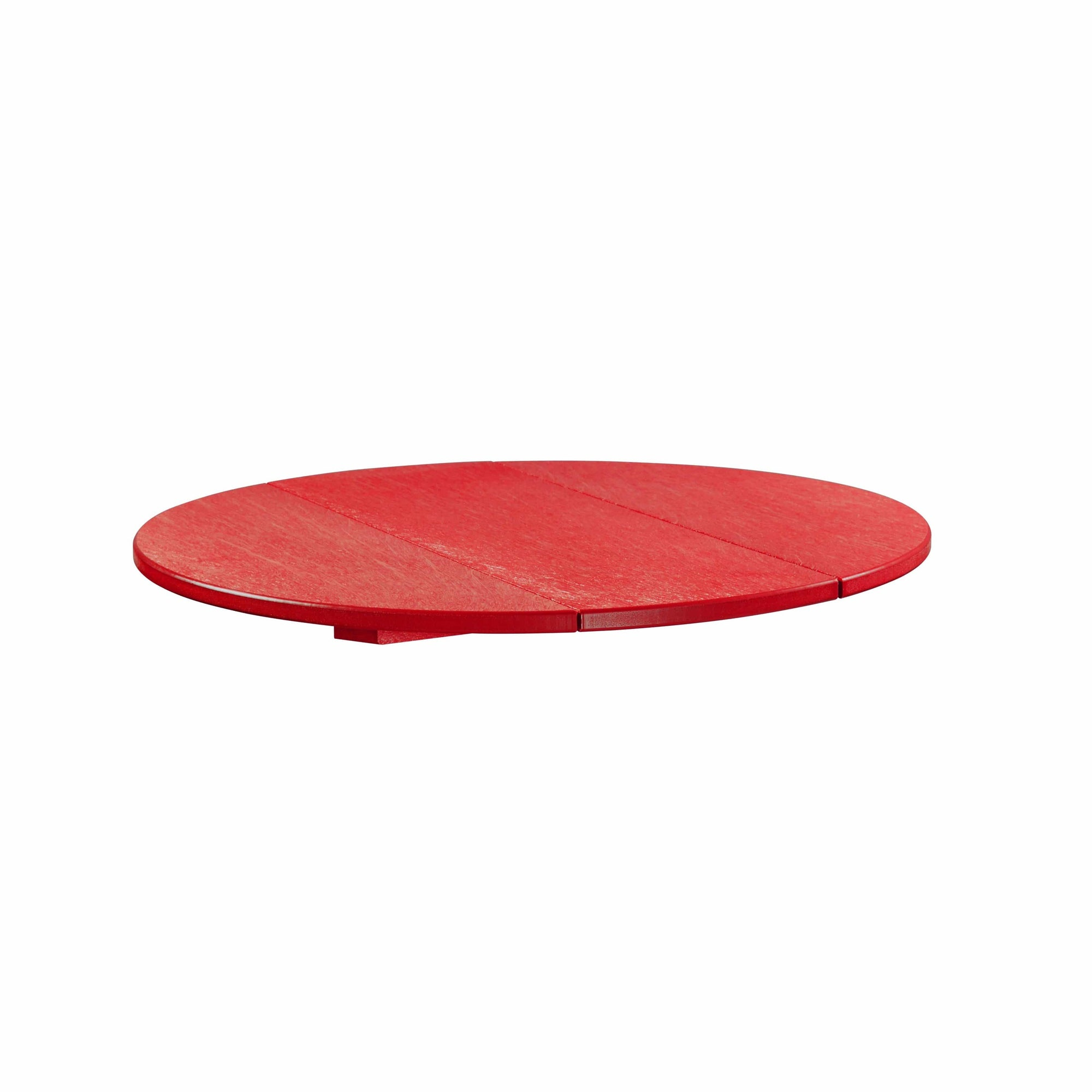 "C.R. Plastic Products Dining Table Red-01 TT03 32"" Round Table Top"