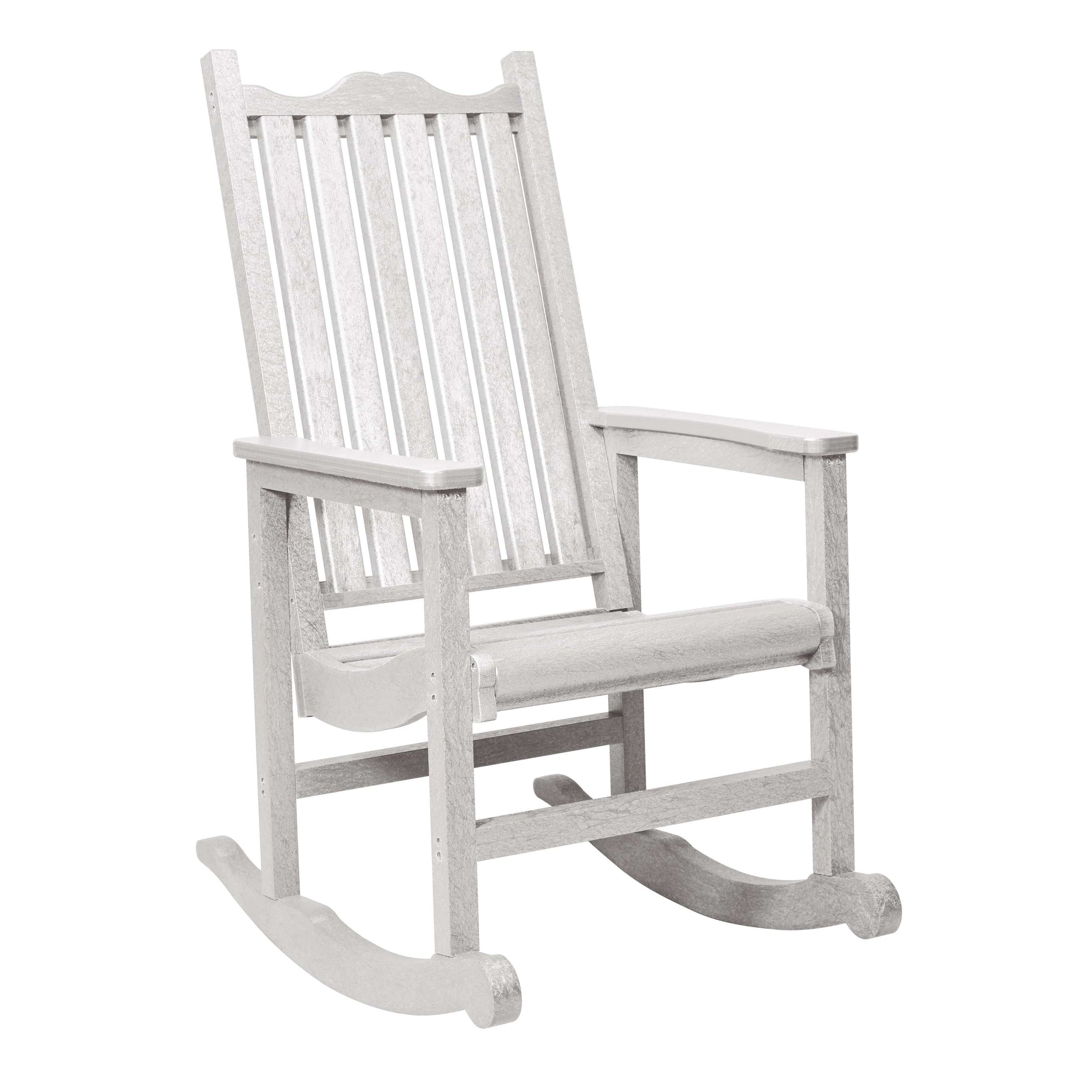 C.R. Plastic Products Rocker Red-01 C05 Porch Rocker