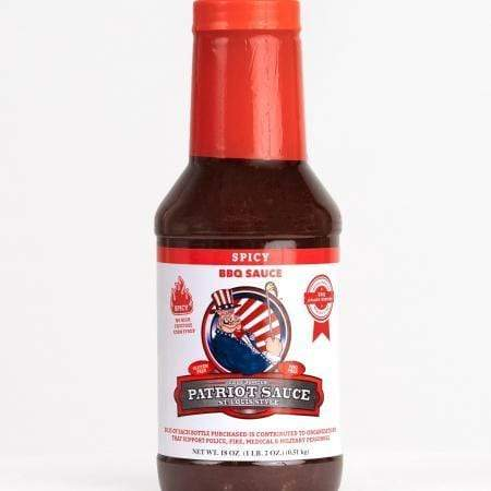 Code 3 BBQ Sauce Patriot Sauce - Spicy