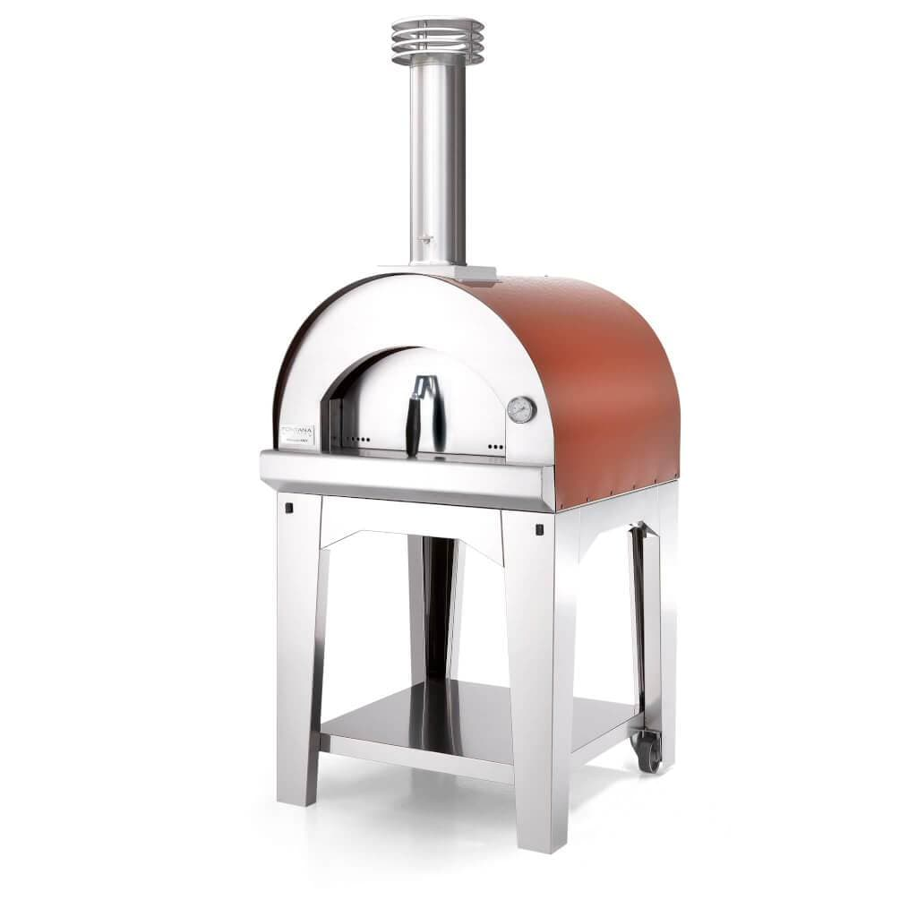 Fontana Pizza Oven The Margherita Wood Fired Pizza Oven – Rosso (Red)