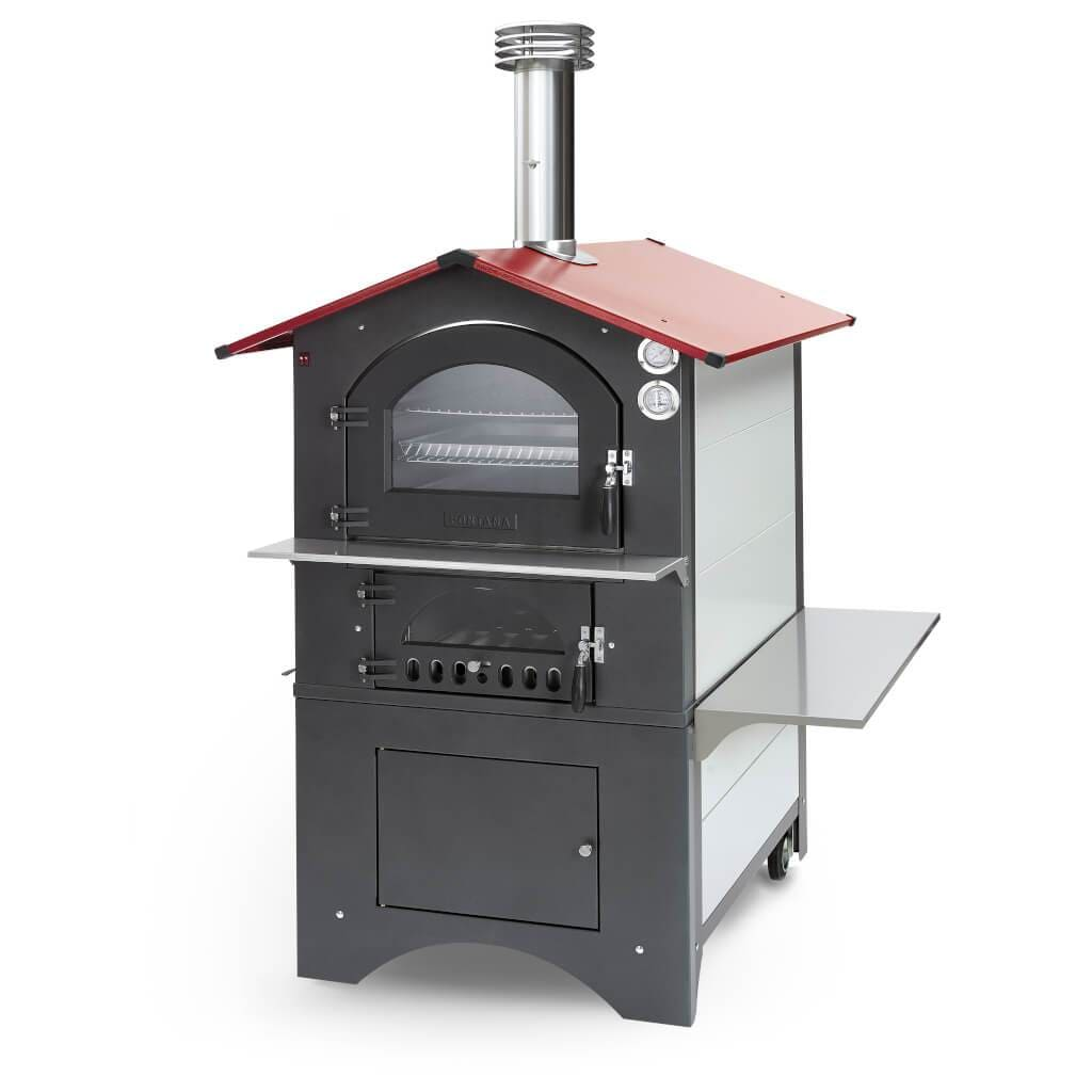 Fontana Pizza Oven The Rosso Wood Oven