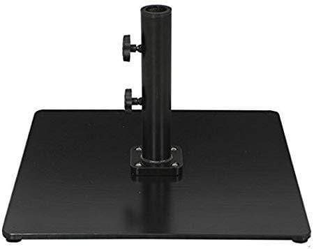 Galtech Umbrella Bases Umbrella Base 60Lb Square Steel