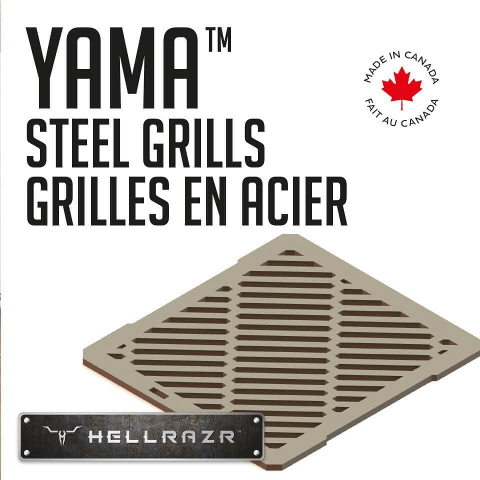 Hellrazr Outdoor Cooking BBQ Parts Yama Stainless Steel Grills