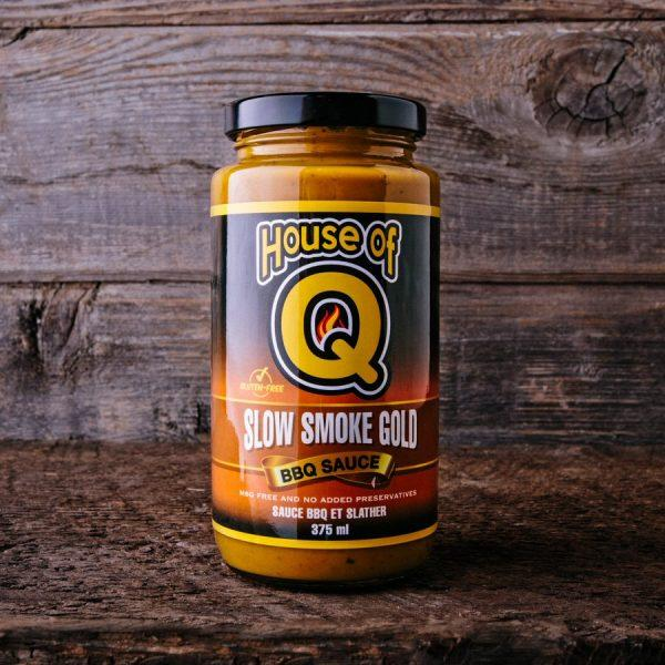 House of Q BBQ Sauce House of Q: Slow Smoke Gold