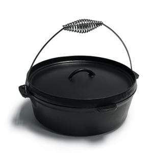 kamado Barbeque Cast Iron Dutch Oven