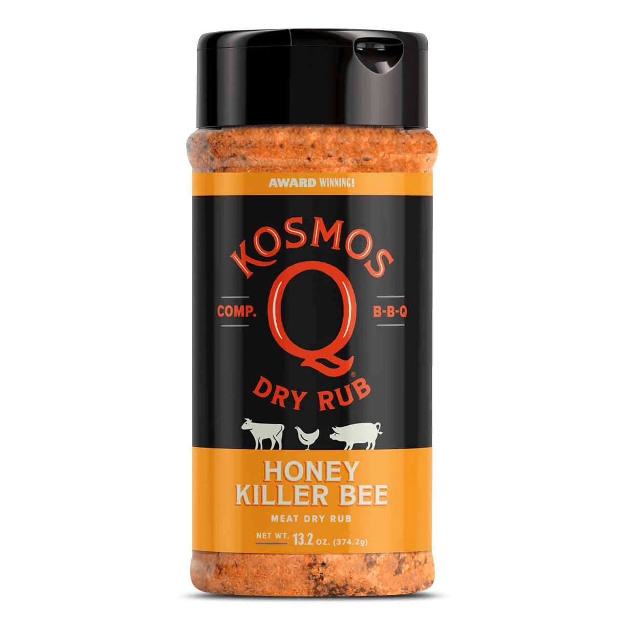 Kosmos Q BBQ Rub Kosmo's Q Killer Bee Honey Rub