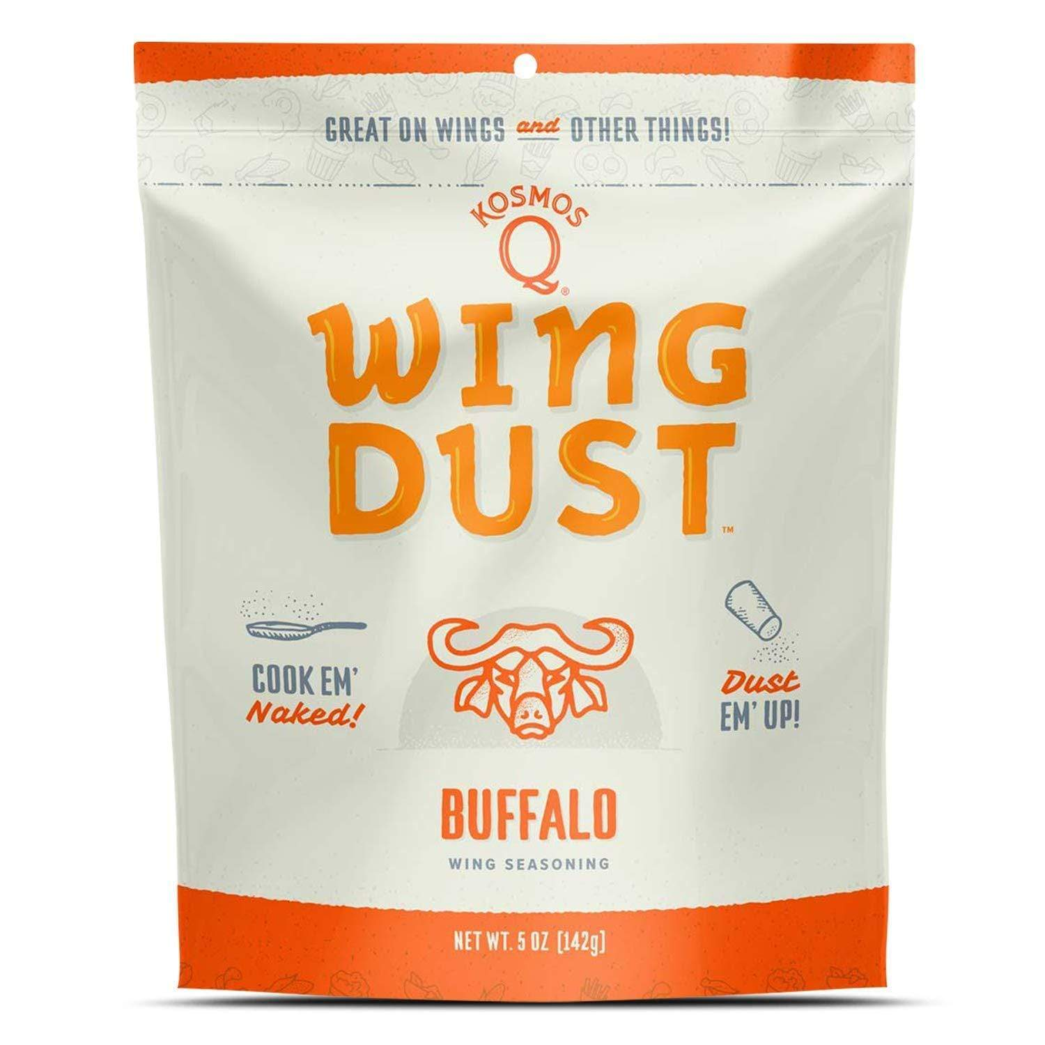 Kosmos Q BBQ Rub Wing Dust Buffalo