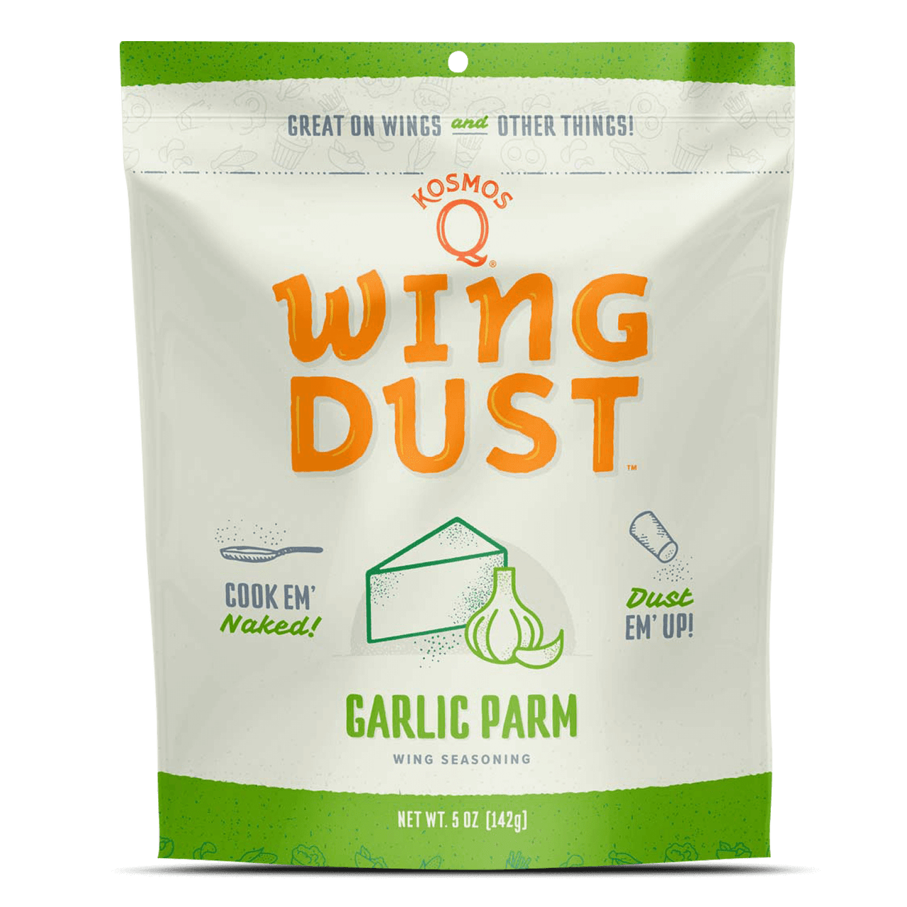 KosmosQ Barbecue Wing Dust Garlic Parm