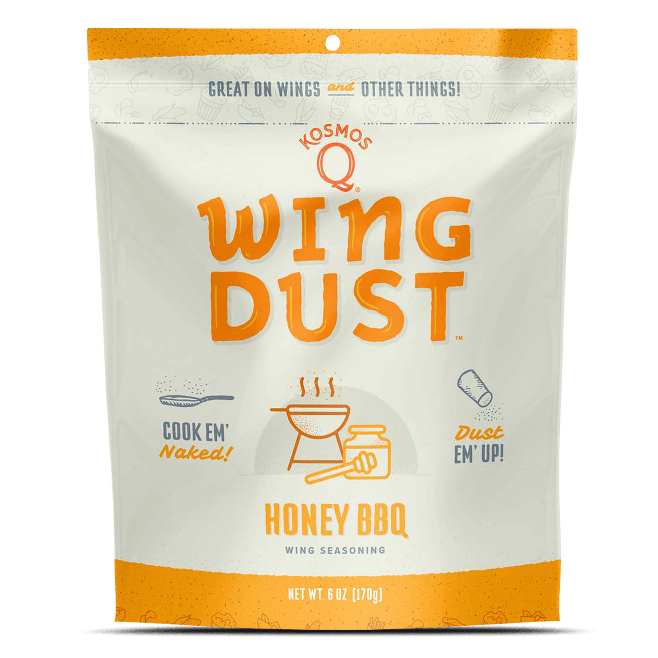 KosmosQ Barbecue Wing Dust Honey BBQ