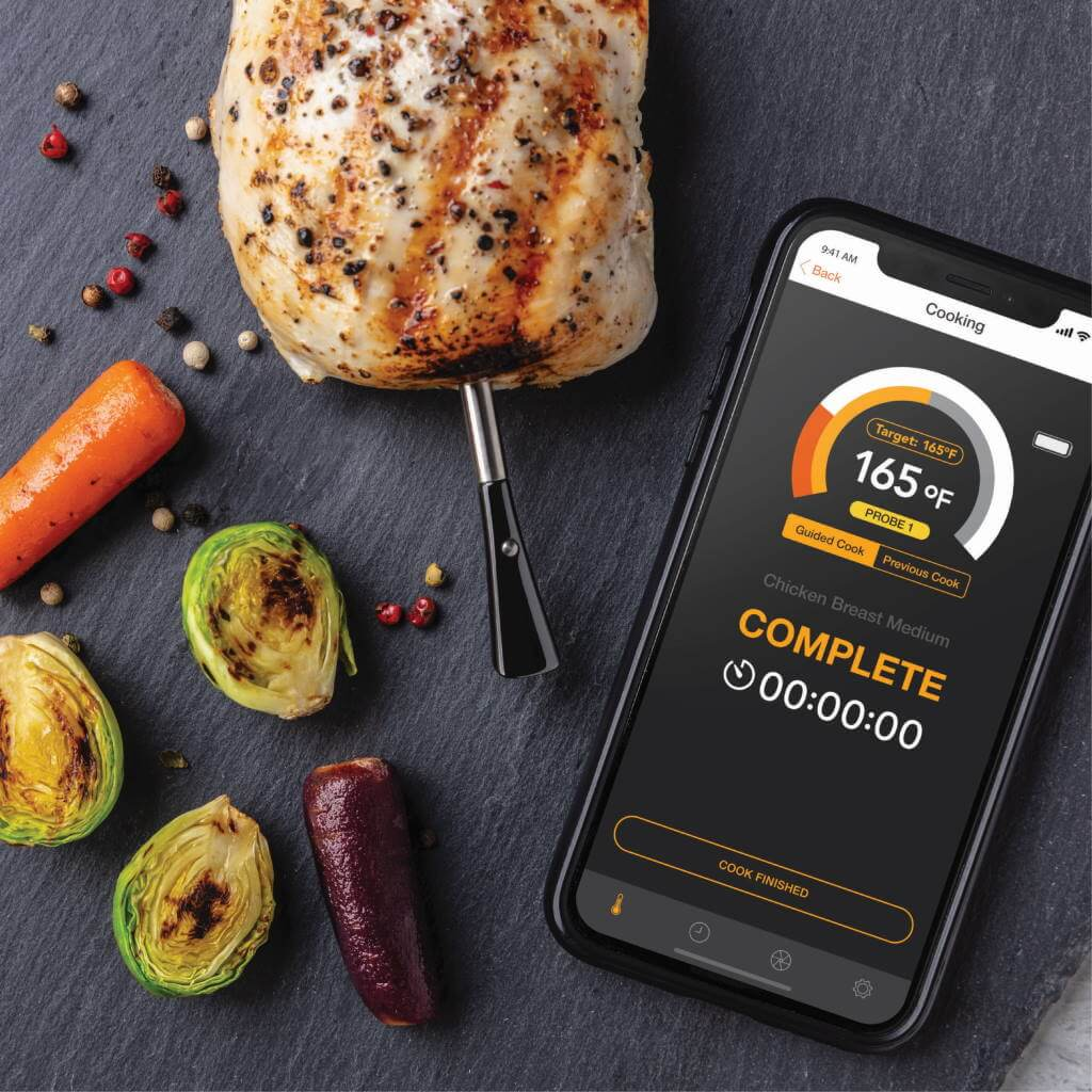 Maverick Thermometer Stake Truly Wireless Food Thermometer
