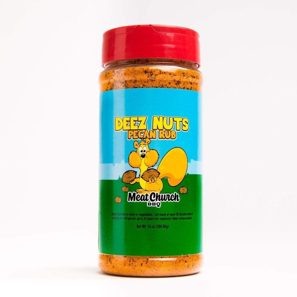 Meat Church BBQ Rub Meat Church Deez Nuts Pecan Rub