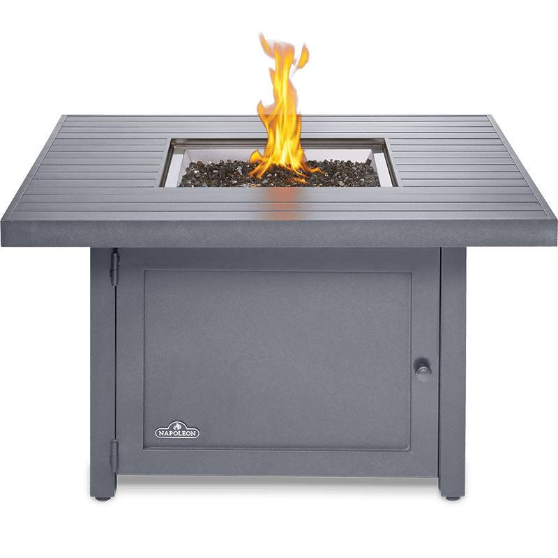 Napoleon Heaters & Fire Tables Hamptons Square Patioflame Table - HAMP2-GY