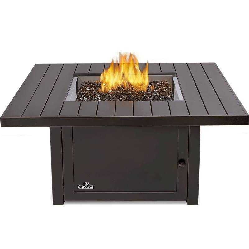 Napoleon Heaters & Fire Tables St. Tropez Square Patioflame Table - STTR2-BZ - LP