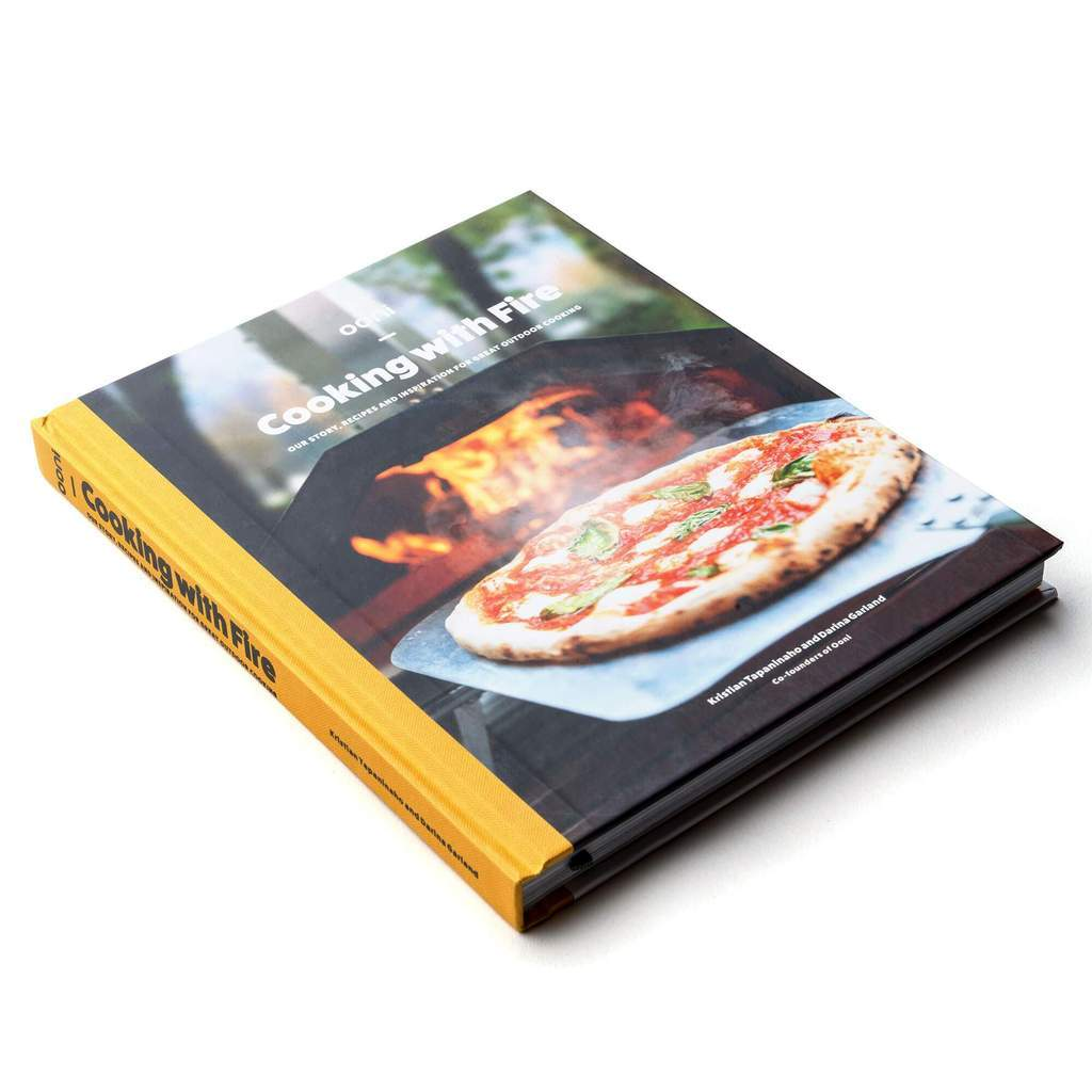 Ooni Pizza Oven Accessories 'Ooni: Cooking with Fire' Cookbook