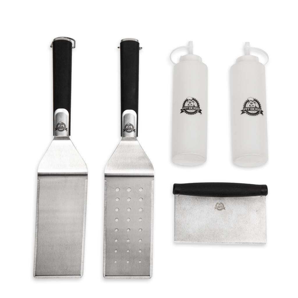 Pit Boss BBQ Accessories 5 Piece Griddle Accessories Kit