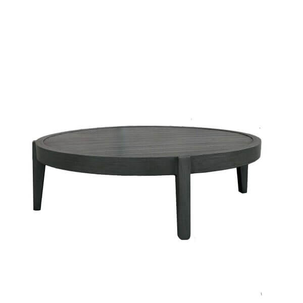 "Ratana Coffee Table Lucia Sectional 40"" Round Coffee Table"