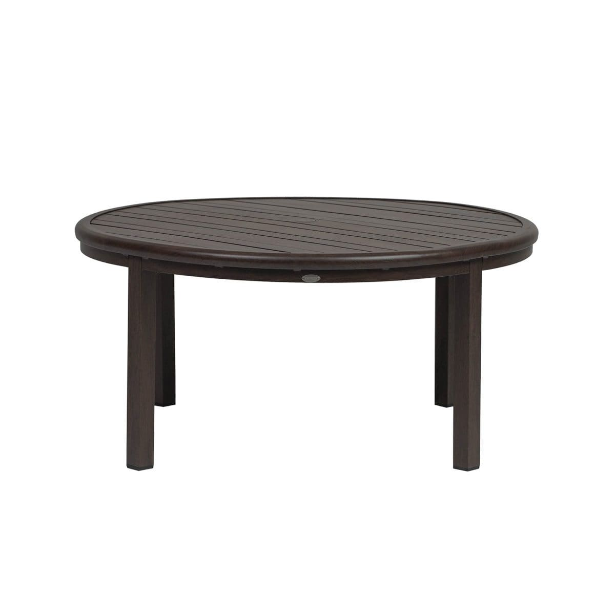 "Ratana Dining Table Canbria 48"" Rd Conversation Table w/Umbrella Hole"