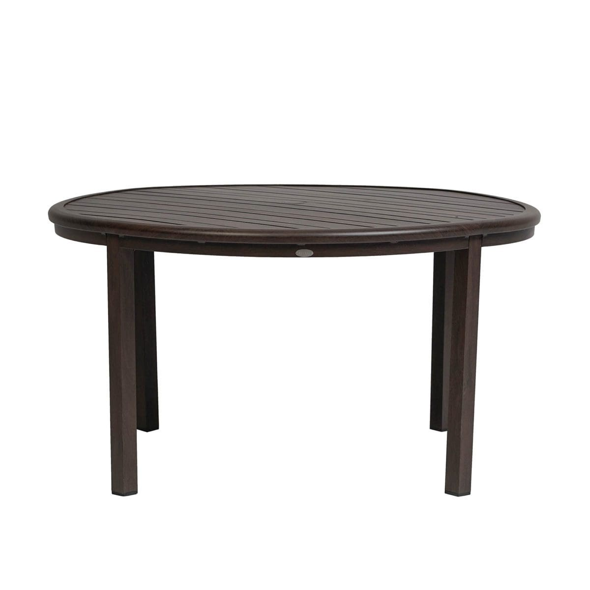 "Ratana Dining Table Canbria 54"" Rd Dining Table w/Umbrella Hole"