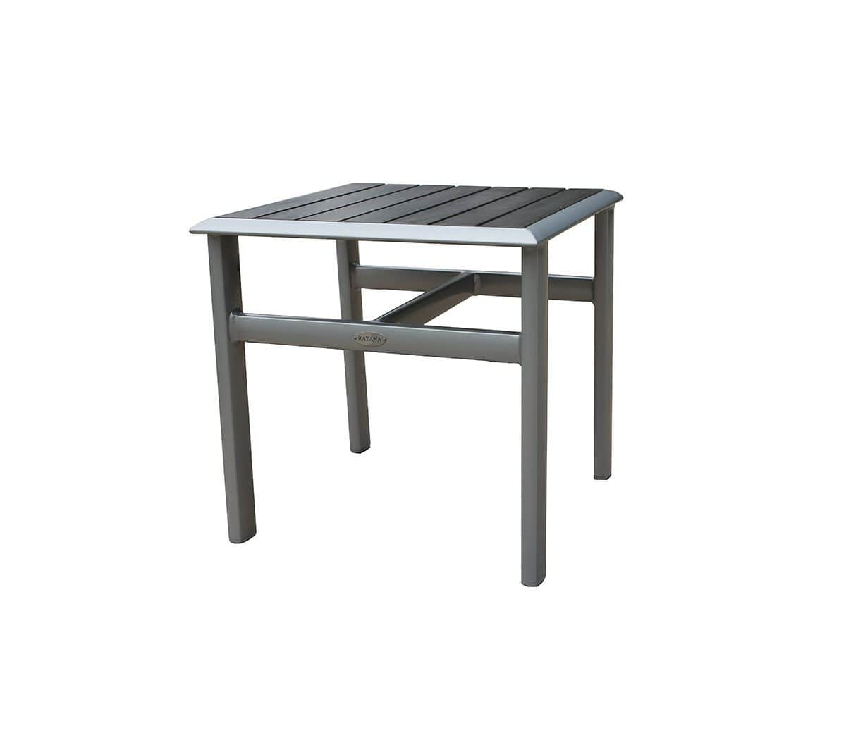 Ratana End Table Lucca Side Table (Durawood Top)