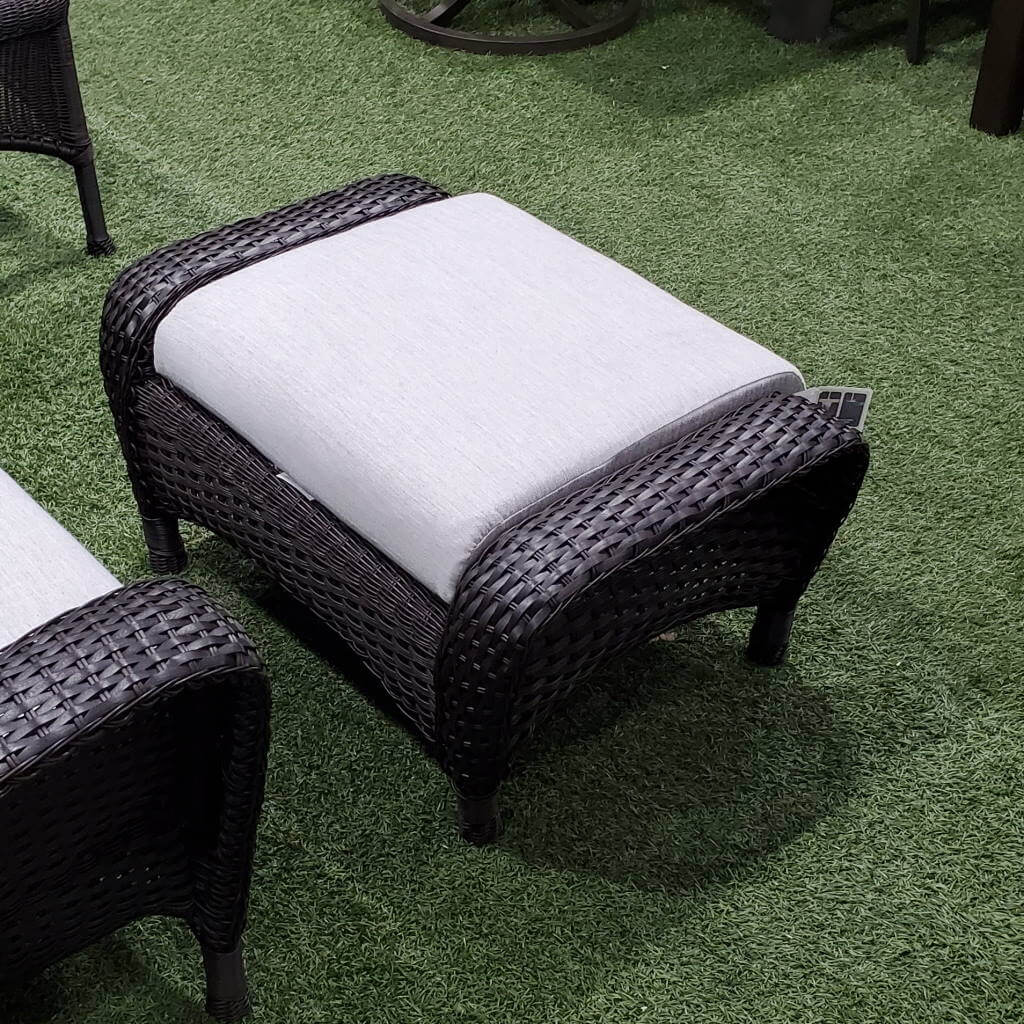 Ratana Furniture - Chairs Lewisburg Ottoman
