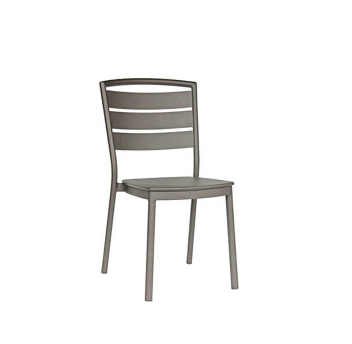 Ratana Furniture - Dining Ciara Stacking Side Chair - Taupe