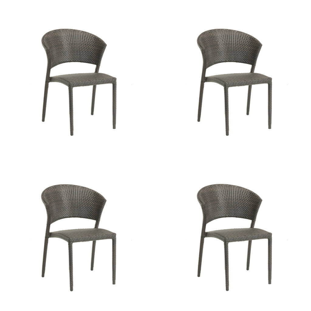 Ratana Furniture - Sets Weston Stacking Chair Set of 4