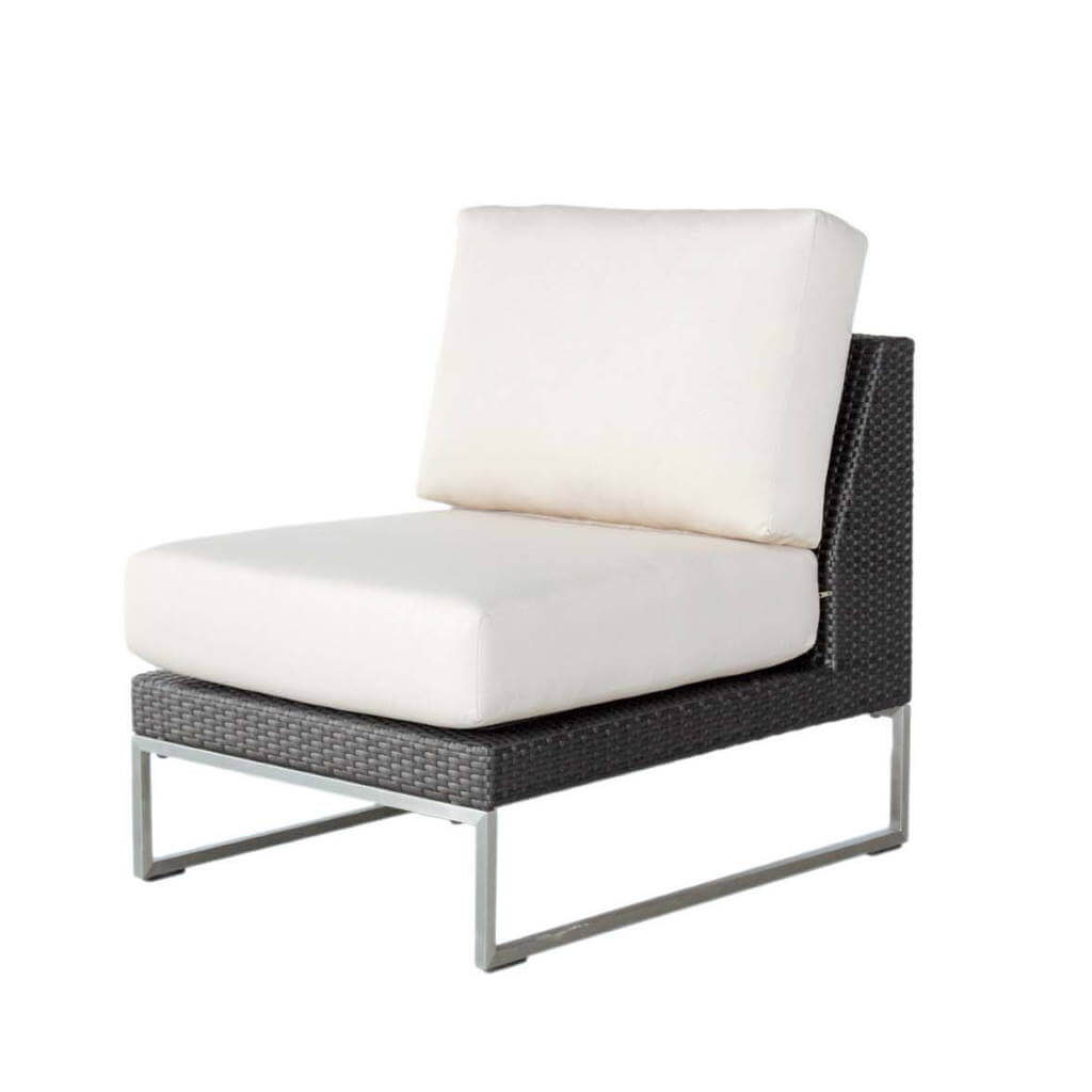 Ratana Sectional Vilano Armless Chair