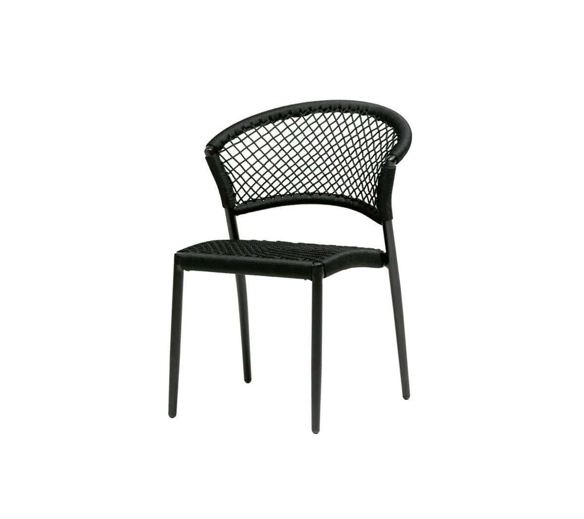 Ratana Side Chair Black Ria Dining Side Chair Black