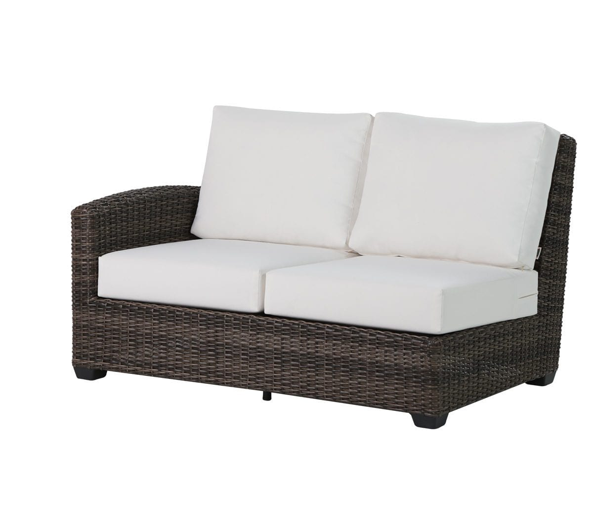 Ratana wicker Coral Gables 2 Seat Left