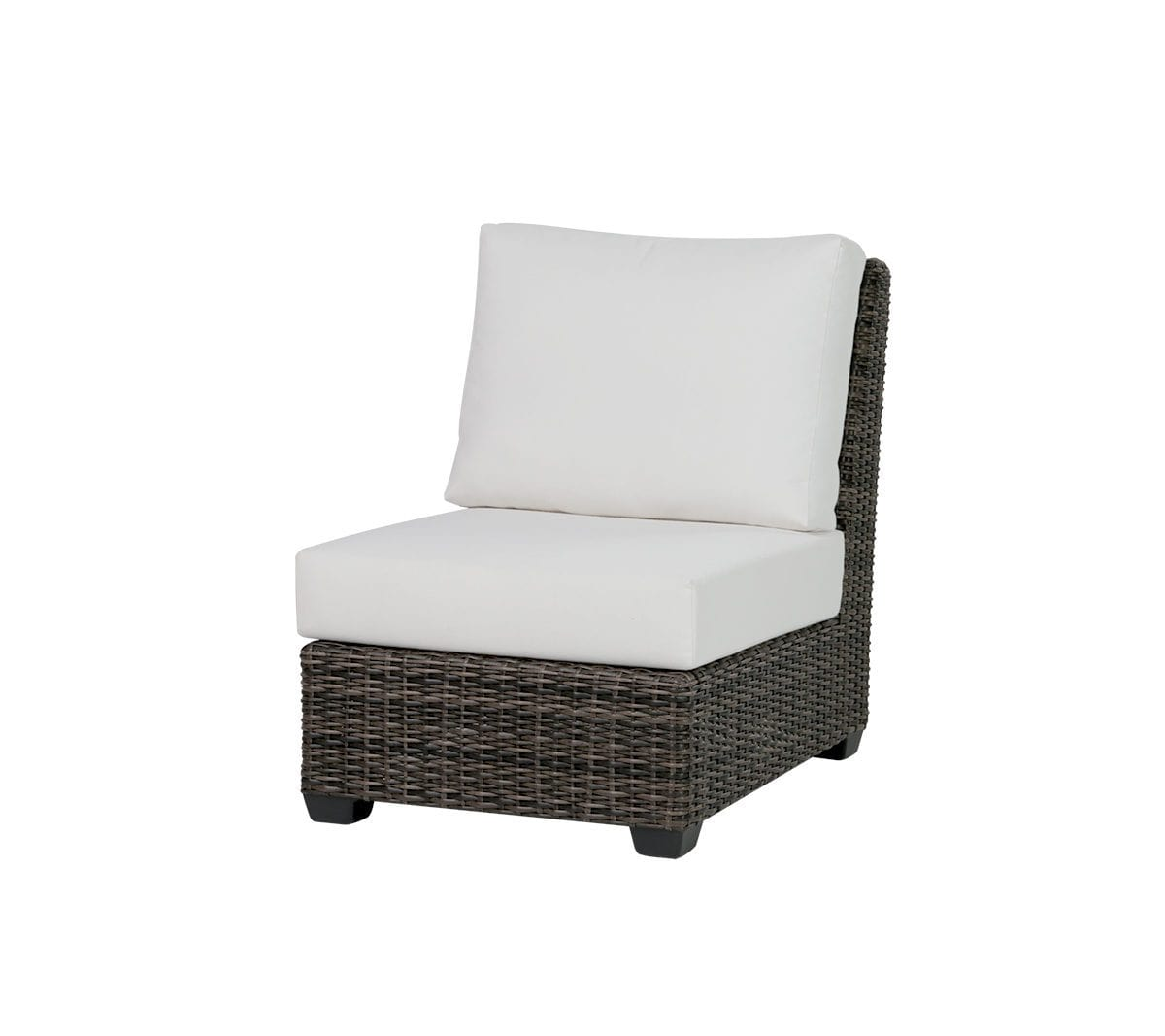 Ratana wicker Coral Gables Armless Chair