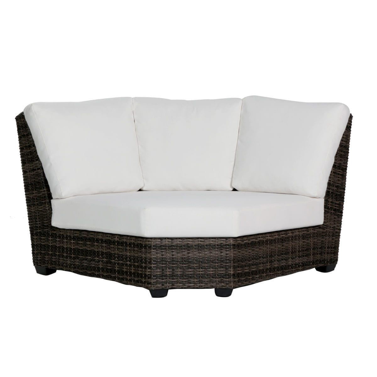 Ratana wicker Coral Gables Curved Corner