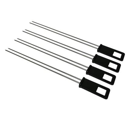 Saber Stainless Steel Dual Skewers