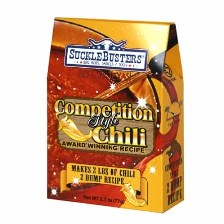 Sucklebusters Brine & More Chili Kit - Competition Style 2 Dump