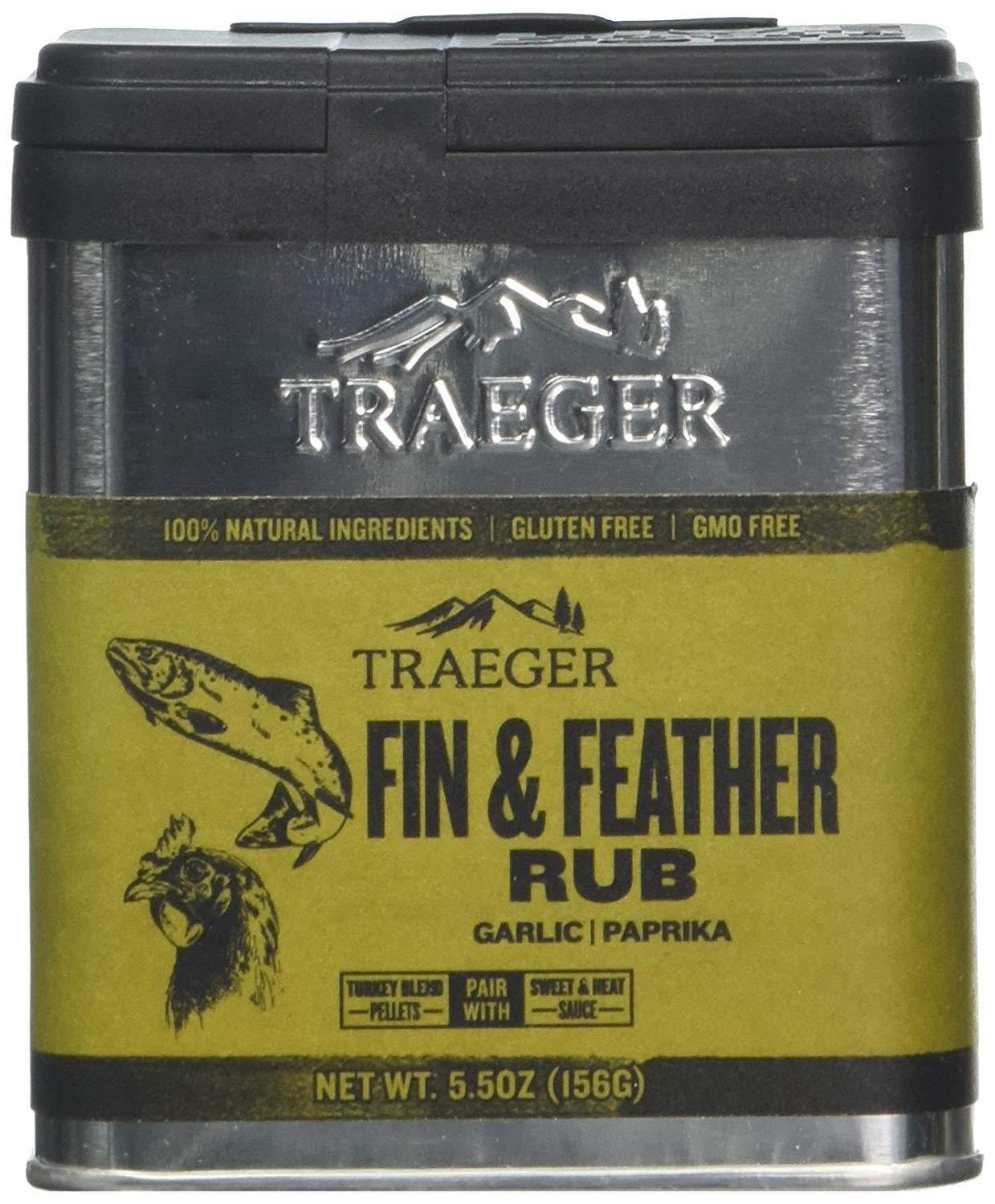 Traeger Barbecue Fin & Feather Rub