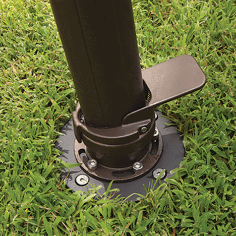 Treasure Garden Cantilever Bases In-ground Mount Kit