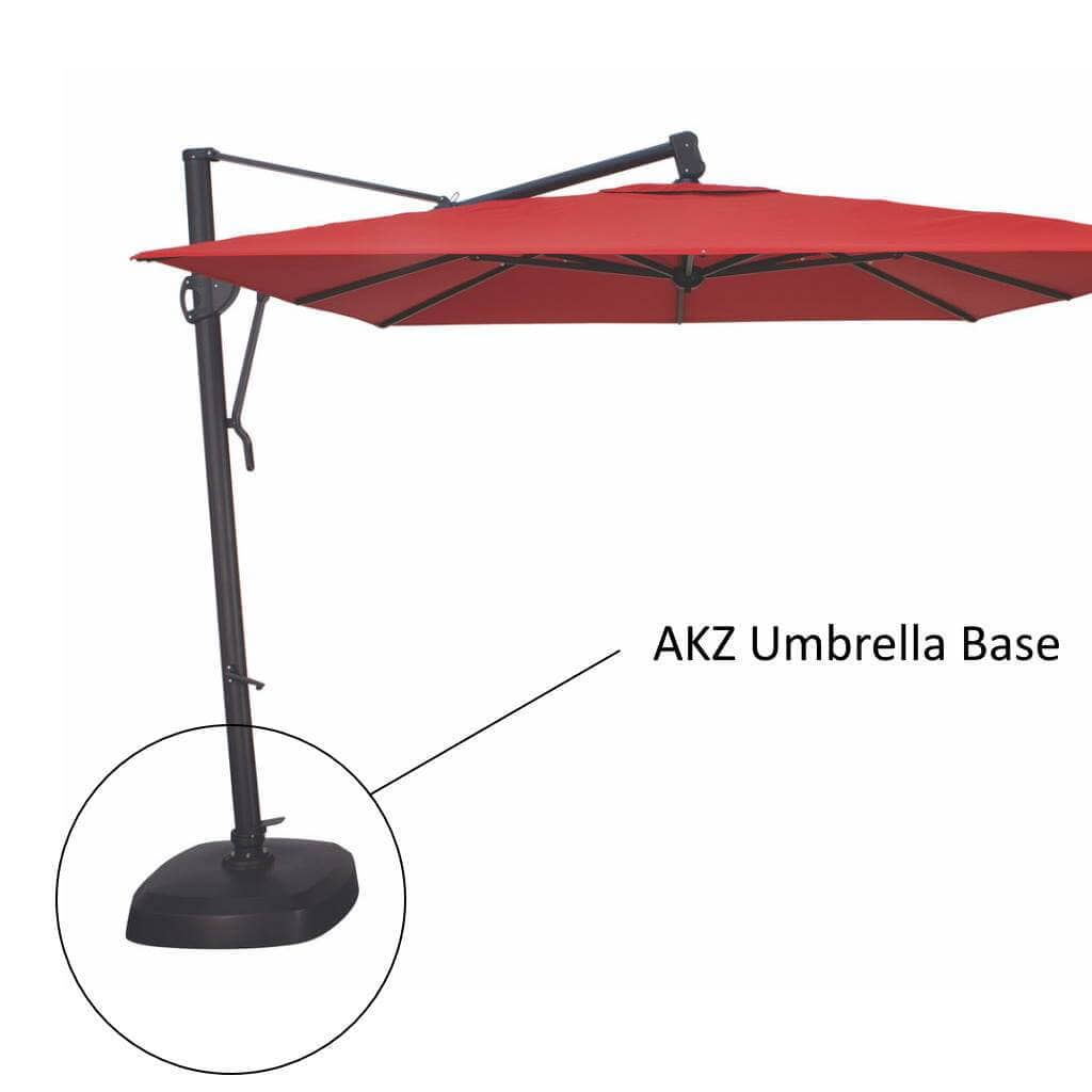 Treasure Garden Umbrellas AKZ Base for 10' Cantilever Umbrellas