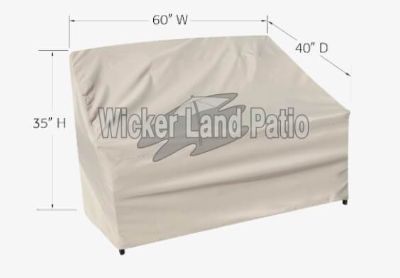 Treasure Garden Weather Cover Large Loveseat - CP722