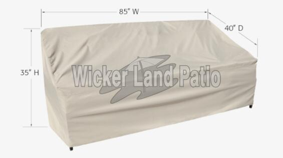 Treasure Garden Weather Cover Large Sofa - CP733