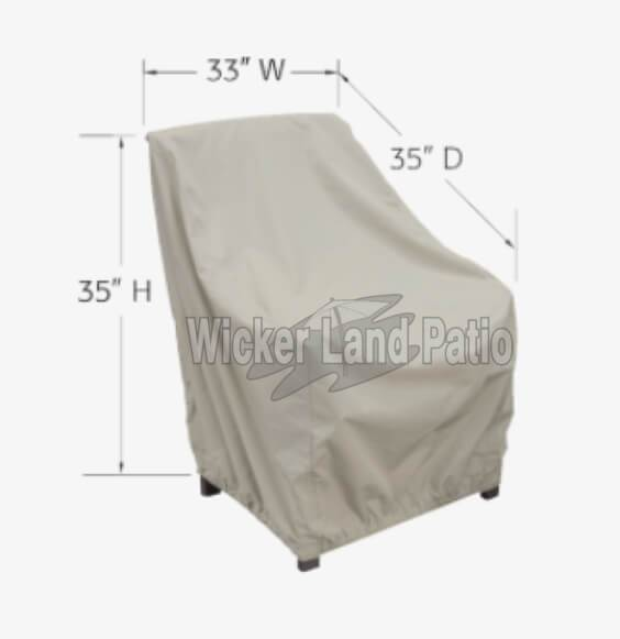 Treasure Garden Weather Cover Lounge Chair - CP711