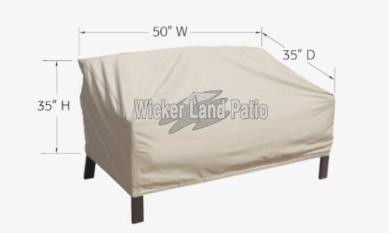 Treasure Garden Weather Cover Loveseat - CP720