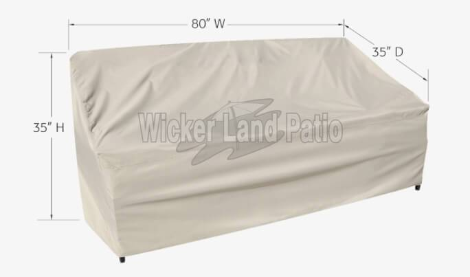 Treasure Garden Weather Cover Sofa - CP723