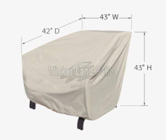 Treasure Garden Weather Cover X-Large Lounge Chair - CP741