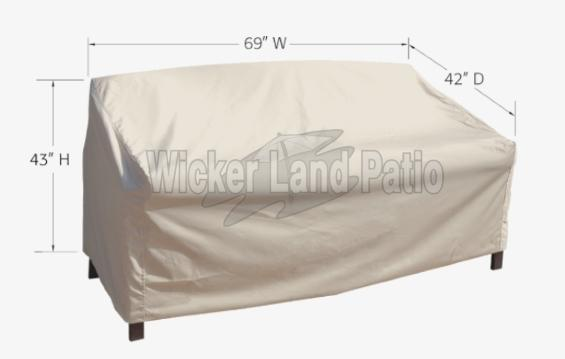 Treasure Garden Weather Cover X-Large Loveseat - CP742