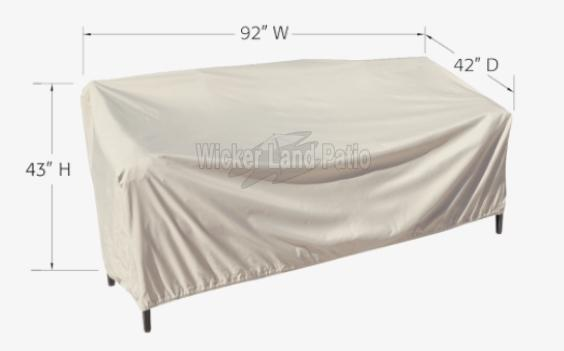 Treasure Garden Weather Cover X-Large Sofa - CP743