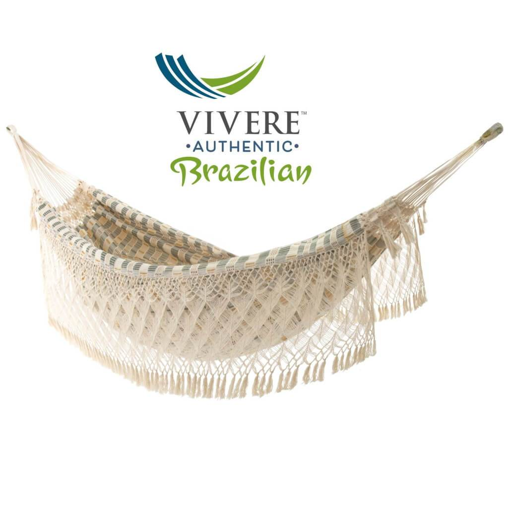 Vivere Hammocks Authentic Luxury Brazilian Double Hammock