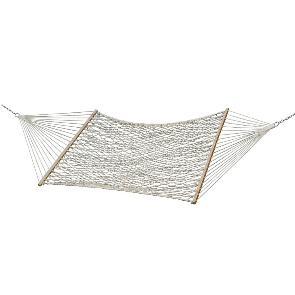 Vivere Hammocks Cotton Rope Hammock - Double (Natural)